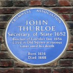 Thurloe plaque