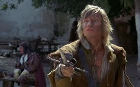 Michael York needs a longer blade in the 1974 movie version
