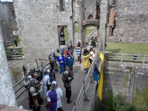 The bridge between outer tower and inner keep